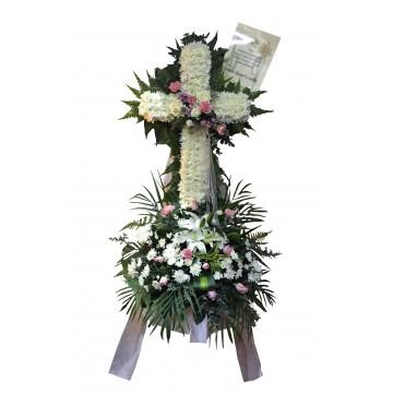 Empathy Cross Wreath | Condolence Wreath
