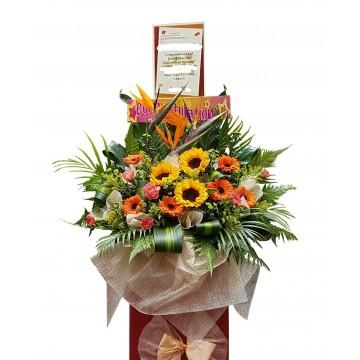 Joyous | Congratulatory Floral Stand