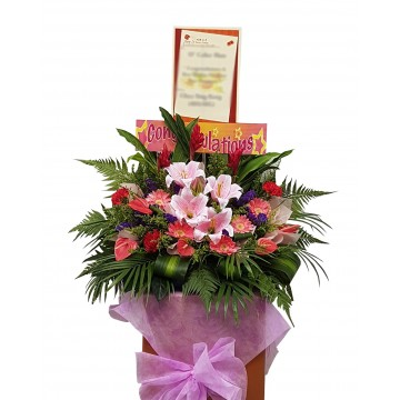Simplistic | Congratulatory Floral Stand