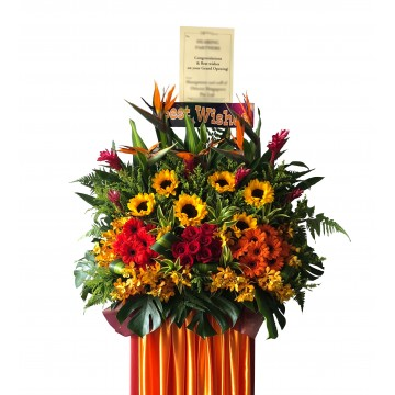 Victory | Congratulatory Floral Stand