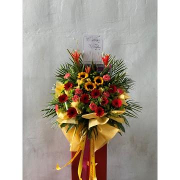 Winning | Congratulatory Floral Stand