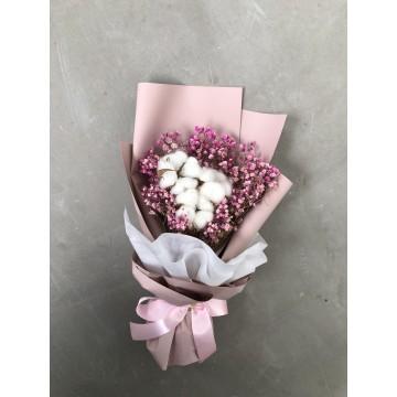 Everlasting Cotton | Floral Bouquet
