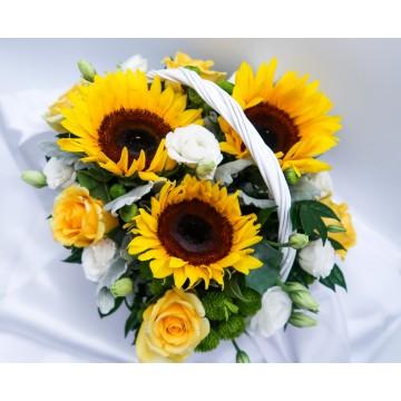 Optimism | Flower Basket