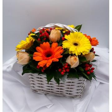 Cherry | Flower Basket