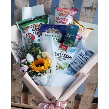 Edibles x Flower | Snack Bouquet